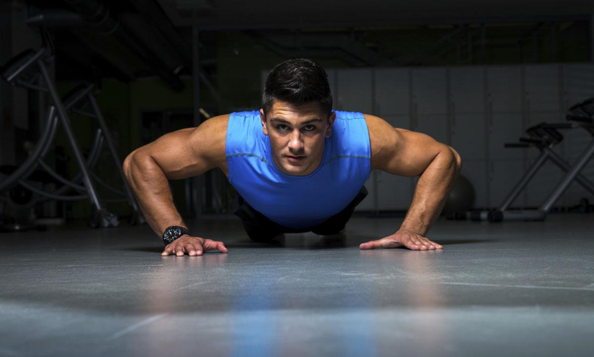 travail des pectoraux au poids de corps
